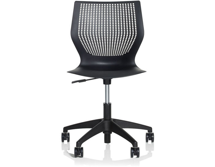 multigeneration light task chair with 5-star base
