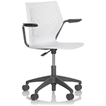 multigeneration light task chair with 5-star base  -