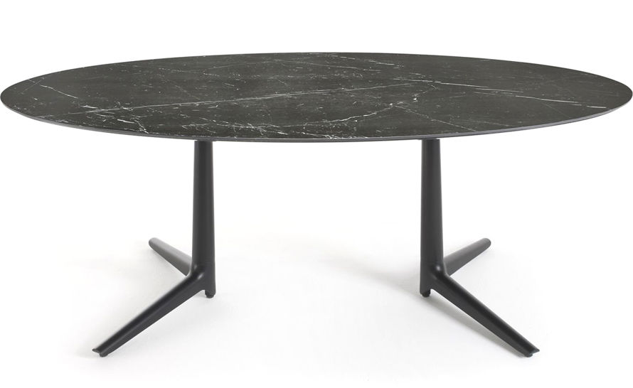 multiplo xl oval table