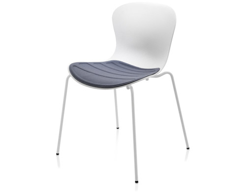 nap side chair with upholstered seat cushion