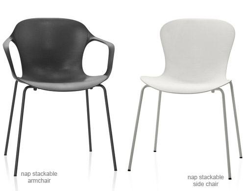 Amazing Nap Stackable Side Chair