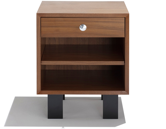 nelson basic cabinet open with 1 drawer