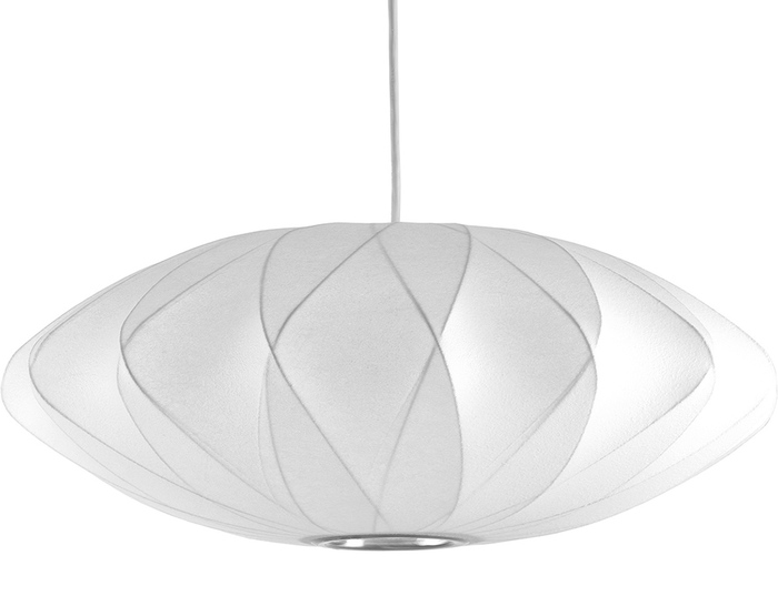 nelson bubble lamp - criss cross saucer