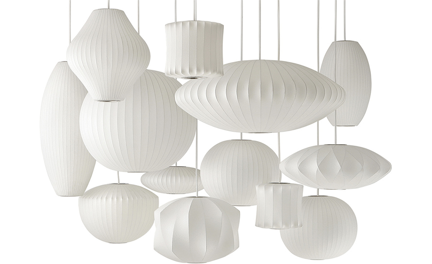 Nelson bubble lamp saucer - Suspension georges nelson ...