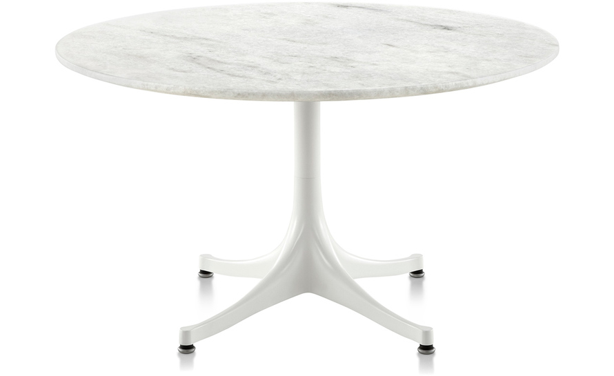 Perfect Nelson Pedestal Table Outdoor 28.5