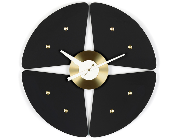 George nelson petal wall clock for Nelson wall clock