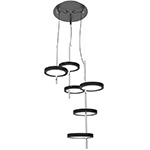 Led Ginger Suspension Lamp Hivemodern Com