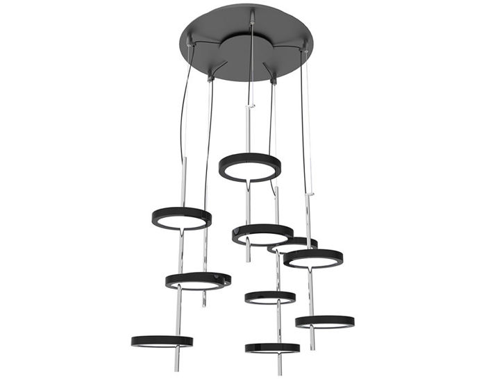 nenufar pre set 5b led chandelier