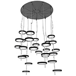 nenufar pre set 9a led chandelier  -