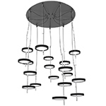 nenufar pre set 9b led chandelier  -