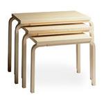 nesting tables 88 - Alvar Aalto - Artek