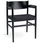 nestor chair with webbed seat  - mater