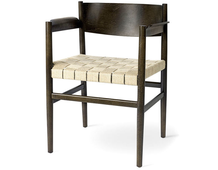 nestor chair with webbed seat
