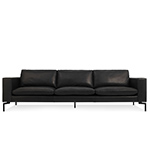 new standard 104 inch leather sofa  - blu dot