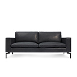 new standard 78 inch leather sofa  - blu dot