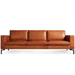 new standard 92 inch leather sofa  - blu dot