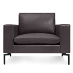 new standard leather lounge chair  -