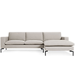 new standard sofa with chaise  - blu dot