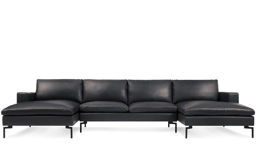 New Standard U Shaped Leather Sectional Sofa hivemoderncom : new standard u shaped leather sectional sofa blu dot 1 from hivemodern.com size 890 x 545 jpeg 29kB