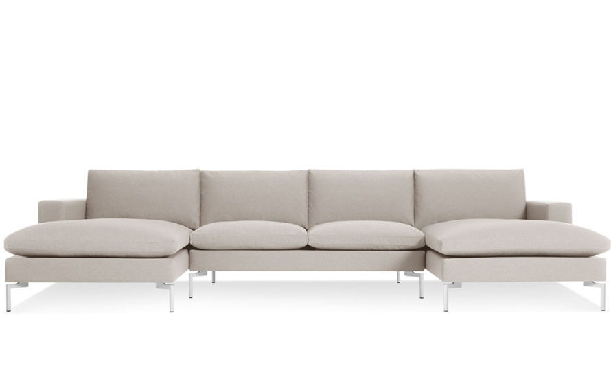 new standard u shaped sectional sofa
