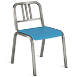 emeco nine-0 stacking side chair  -