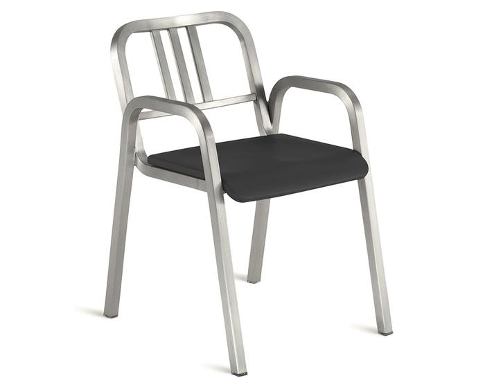 emeco nine-0 stacking armchair