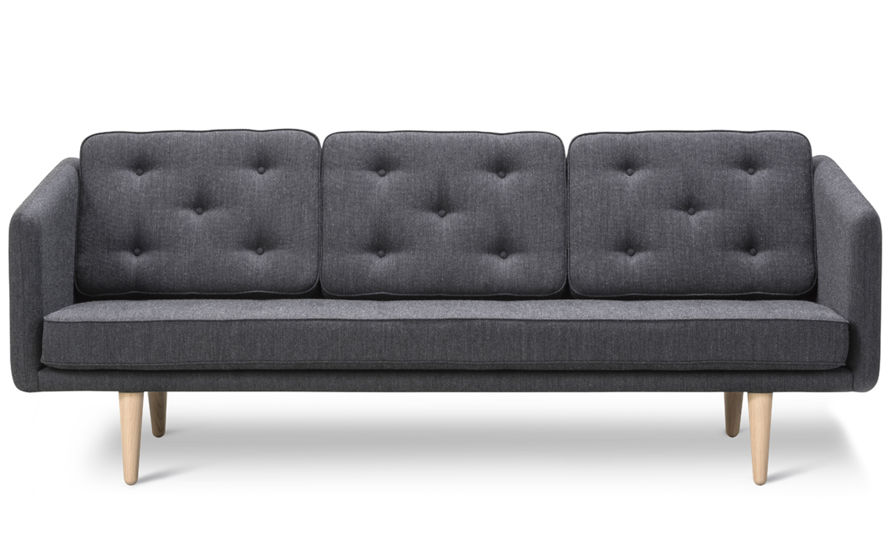 no. 1 three seat sofa