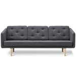 no. 1 three seat sofa - Borge Mogensen - Fredericia