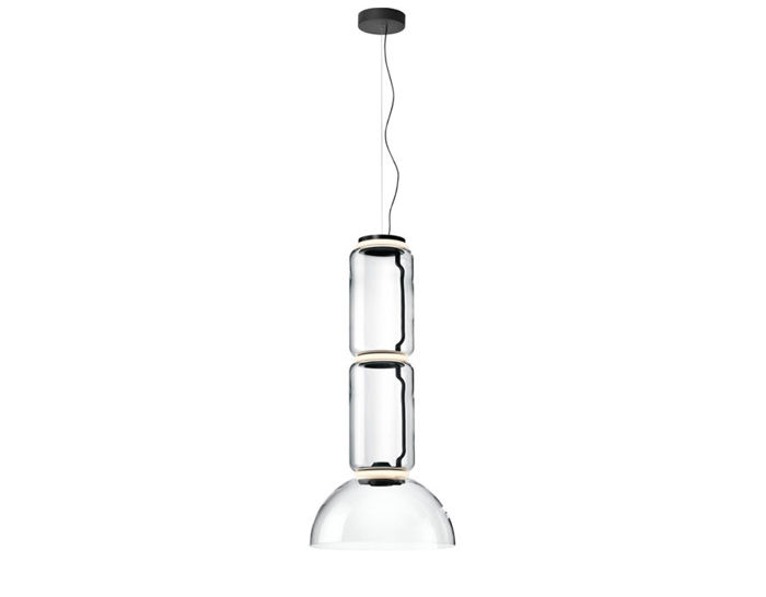 noctambule s2 suspension lamp with bowl