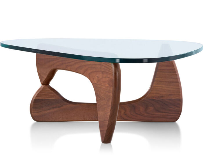 Modern dining tables with glass tops - Noguchi Coffee Table Hivemodern Com