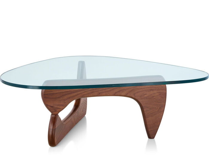 coffee table miller noguchi used room and board isamu american walnut