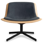 nonesuch swivel upholstered lounge chair  -