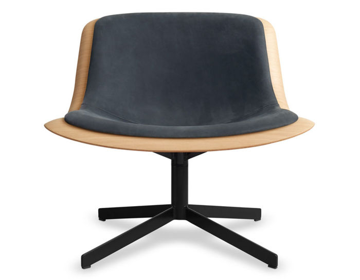 nonesuch swivel upholstered lounge chair