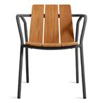 offline outdoor dining chair  - blu dot