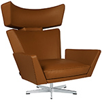arne jacobsen oksen lounge chair  -