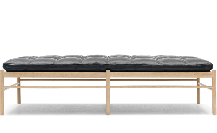 ole wanscher 150 daybed with neck pillow