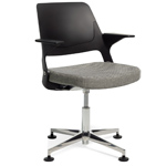ollo light task chair with 4 star base  -