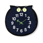 george nelson zoo timer omar the owl clock