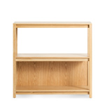 open plan small low bookcase  - blu dot