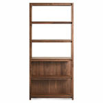open plan tall bookcase  -