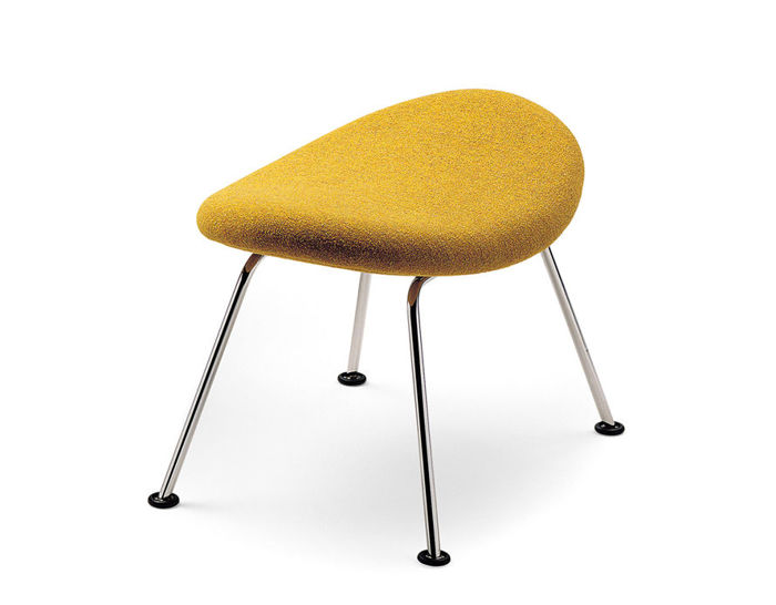orange slice ottoman