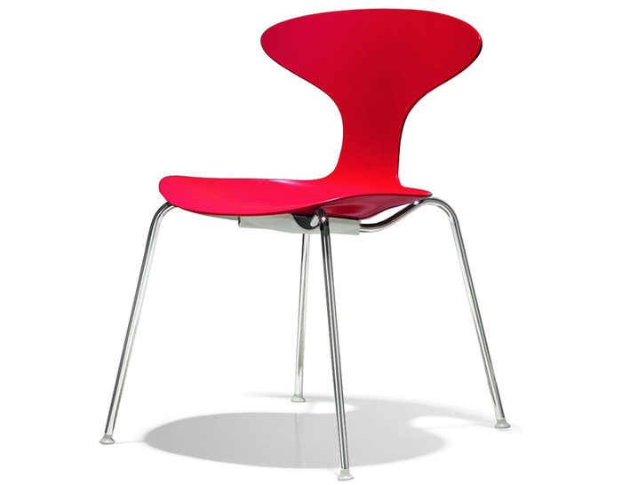 Orbit Plastic Stacking Chair Hivemodern Com