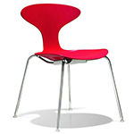 orbit plastic stacking chair  -