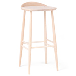 originals bar stool with back  - L. Ercolani