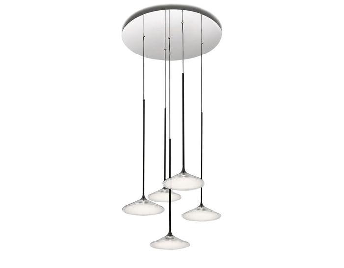 orsa five light chandelier