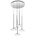orsa five light chandelier  -