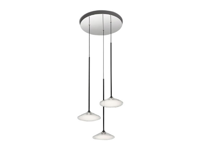 orsa three light chandelier