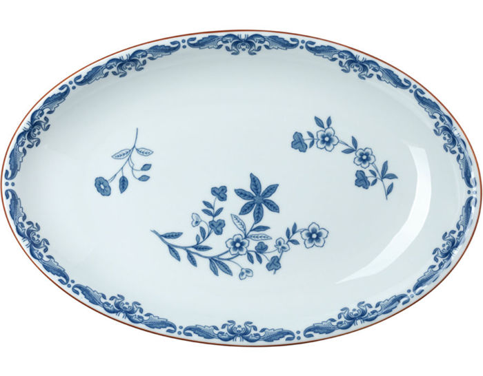 ostindia oval serving dish