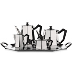 ottagonale coffee & tea set - Carlo Alessi - Alessi