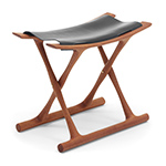 ole wanscher 2000 egyptian stool  - Carl Hansen & Son